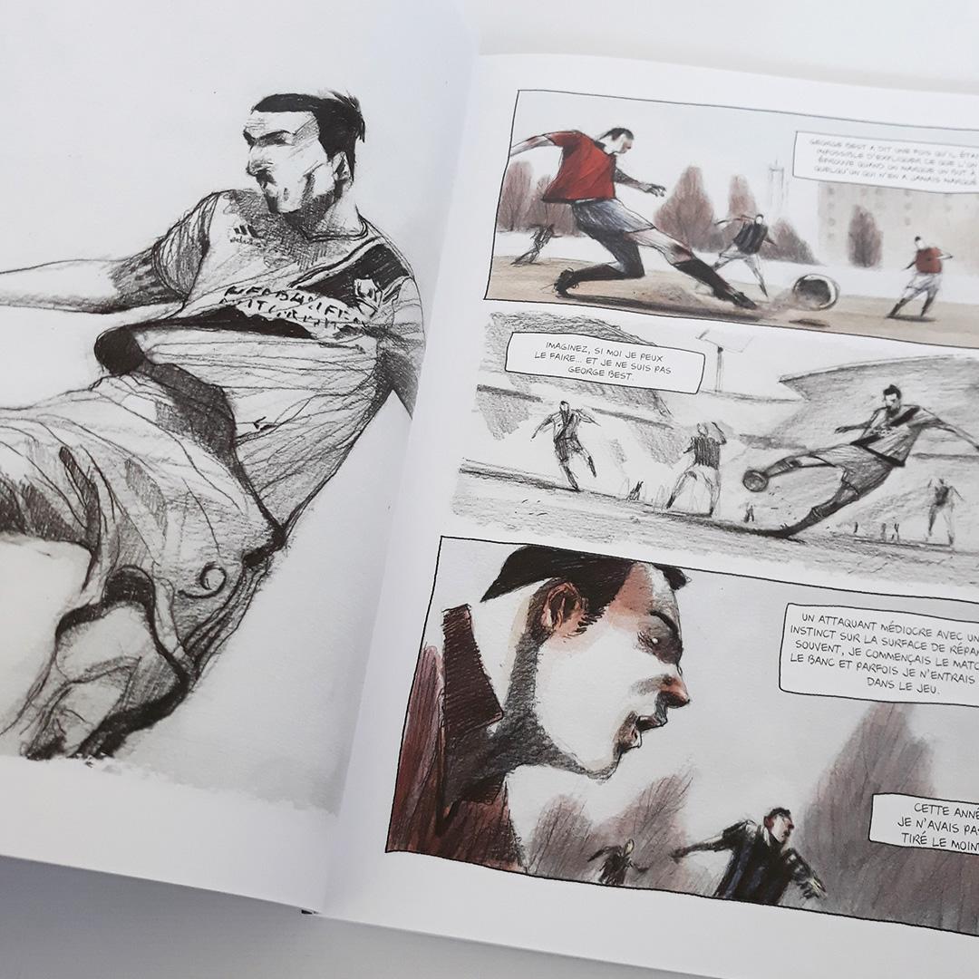 Zlatan - Histoire d'un champion, de Paolo Castaldi - Voir les 8 photos (sur le blog)