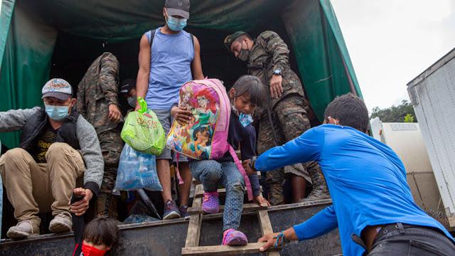 Migranti in movimento di nuovo in Messico e America Centrale