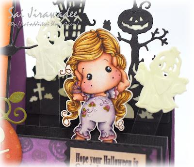 Magnolia Hear No Evil Tilda Halloween