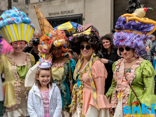Anki On The Move: Hat's off to New York City's Easter Parade 2018 in 90 Glorious Hats!