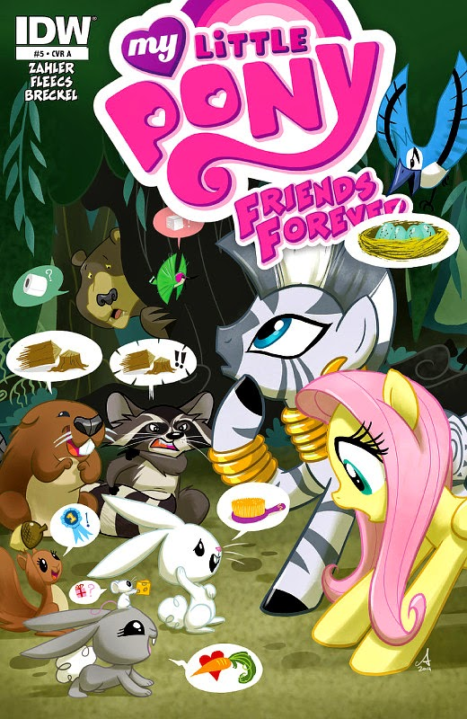 MLP Friends Forever #5 Cover A