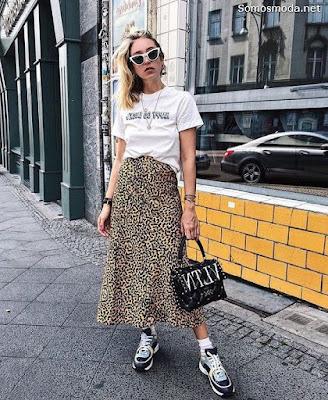 Faldas Largas de Moda 2019
