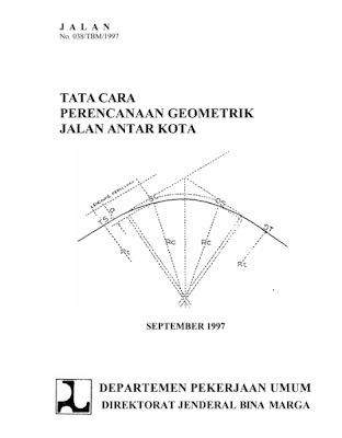 Download tata cara perencanaan geometrik jalan