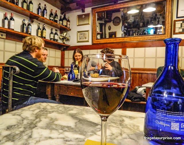Restaurante em Florença, Itália