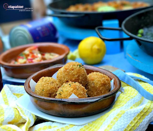 Chorizo Croquetas from Rico Rico Paelleria