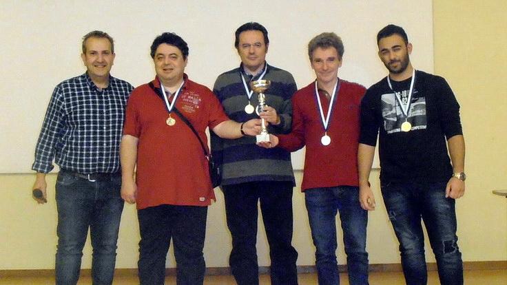 2η θέση για τον Εθνικό Αλεξανδρούπολης στο Ομαδικό Πρωτάθλημα γρήγορου σκακιού ΑΜ-Θ