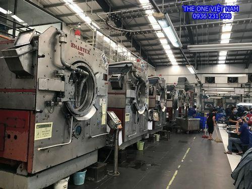 Máy giặt nhuộm công nghiệp Tolkar cho công ty thủy sản