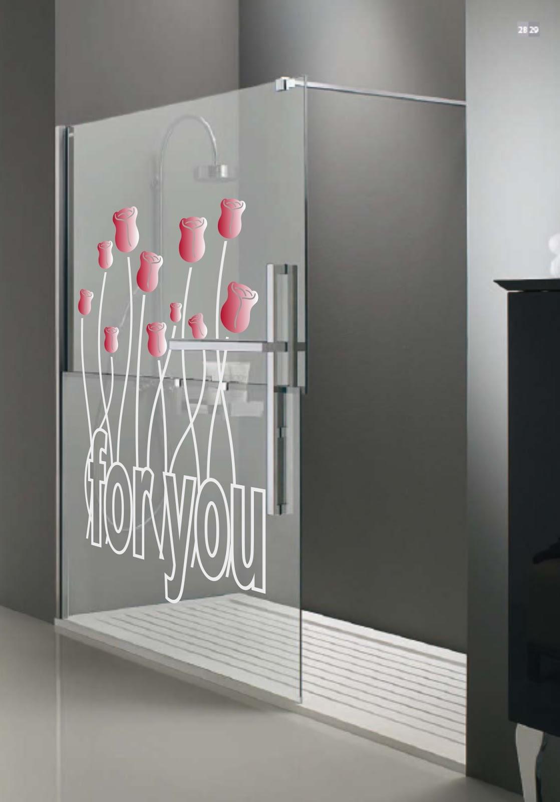 Dekotipo design vinilos para mamparas - Modelos de mamparas de ducha ...
