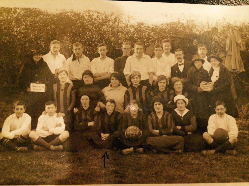 bolckow women Bolckow, vaughan ladies, 1918 carlisle munition girls, 1918 swansea nsf,  1918 bucknall ladies, 1918 west of scotland 1918 wallsend slipway, 1918.