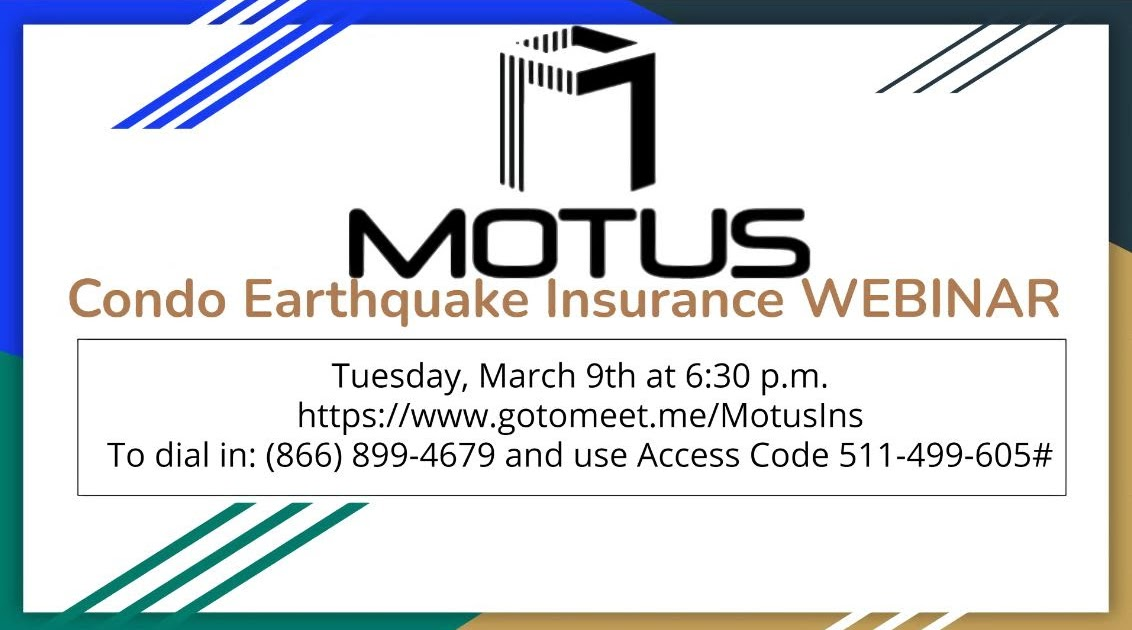 17 ▶ MOTUS WEBINAR for Cobblestone Canyon, Tuesday, March 9, 6:30 pm.