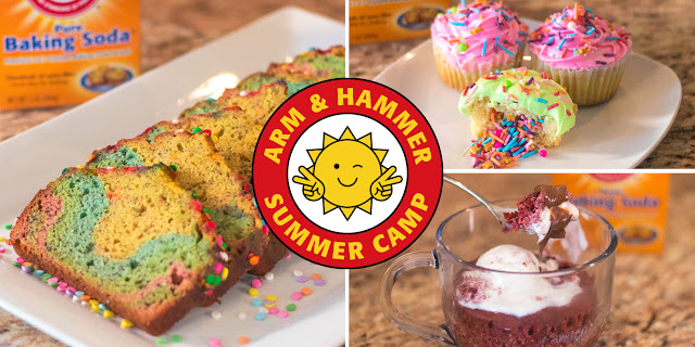 Fun Arm & Hammer Summer Camp Recipes to Create with Your Kids!