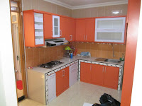 Kitchen Set L Shape - Custom Furniture Semarang