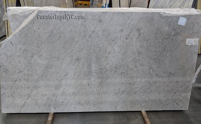Carrara White Marble Slabs 2 inch NYC