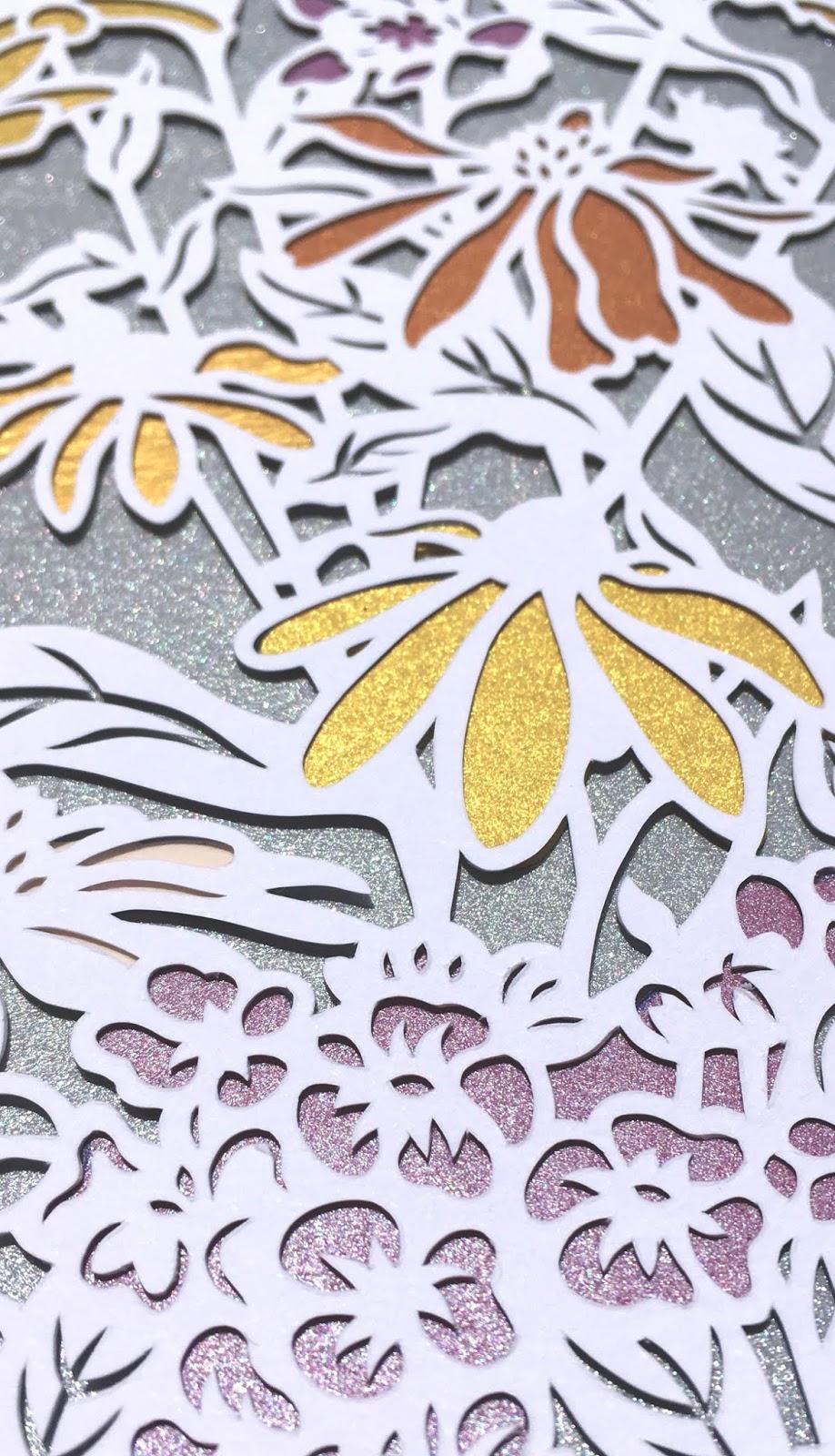 handmade papercut art for wedding by Naomi Shiek