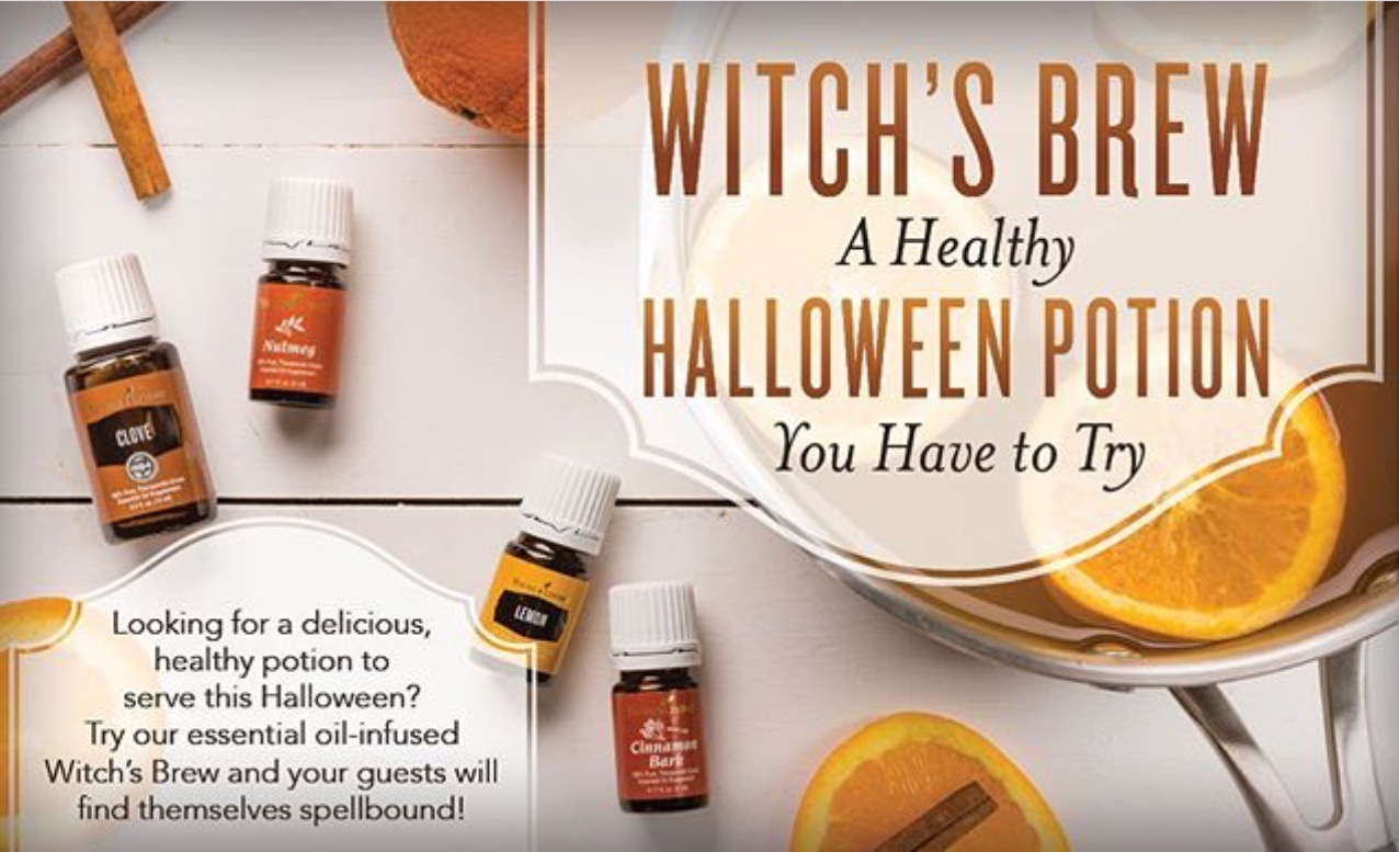 OILS FOR A BETTER LIFE : Halloween Witches Brew