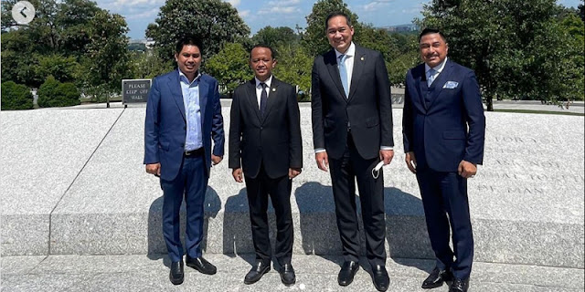 Dua Menteri Pelesiran Di Tengah Pandemi, Relawan Jokowi: Segera Mengundurkan Diri, Dan Layak Untuk Dicopot