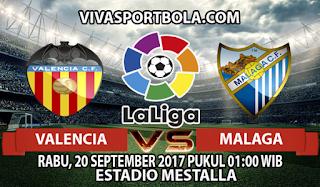 Prediksi Valencia vs Malaga 20 September 2017