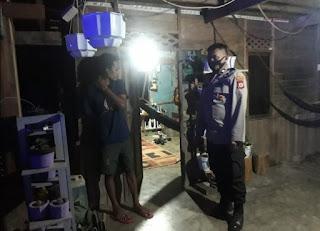 Rutin Patroli Malam, Personil Polsek Anggeraja Polres Enrekang Berikan Rasa Aman Kepada Masyarakat