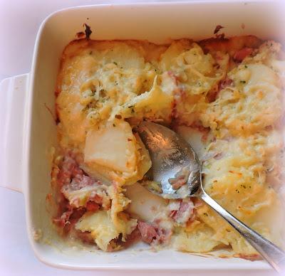 Ham, Leek & Potato Casserole