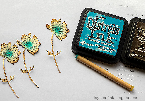 Layers of ink - Double Embossing Video Tutorial by Anna-Karin Evaldsson.