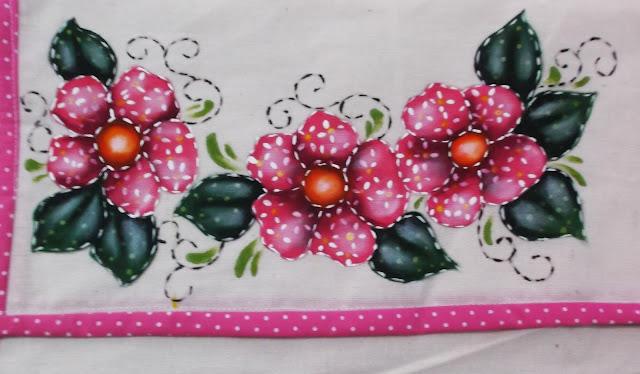 pintura em tecido folk art