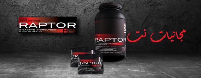 الحصول على عينة مجانية من بروتين Raptor-HP مجانا