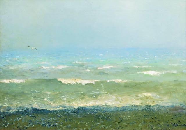 Исаак Ильич Левитан - Берег Средиземного моря. 1890