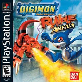 Digimon Rumble Arena Cover(capa)