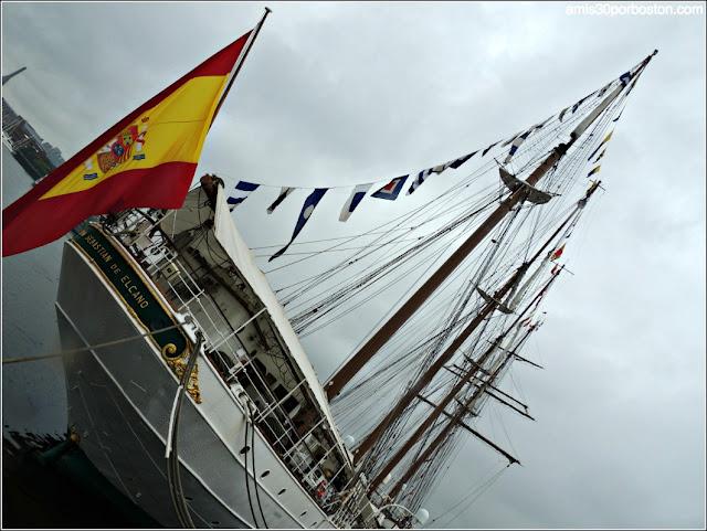 Juan Sebastián de Elcano en Boston