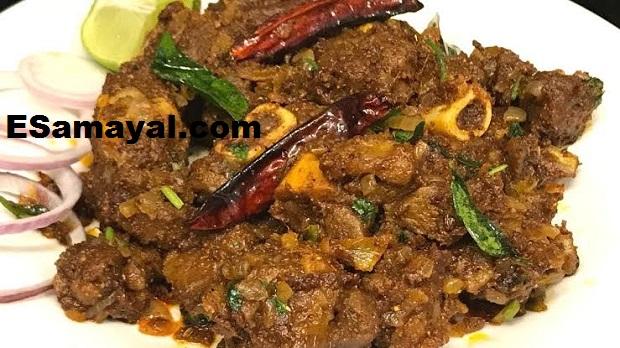 ட்ரை மட்டன் சுக்கா ரெசிபி | Tri Mutton Sukka Recipe !