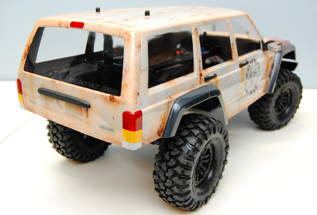 Traxxas TRX-4 rusty paint job