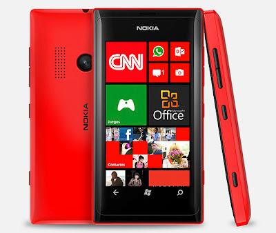 Nokia Lumia 505 Harga Spesifikasi, HP Windows Phone Murah Kamera 8MP