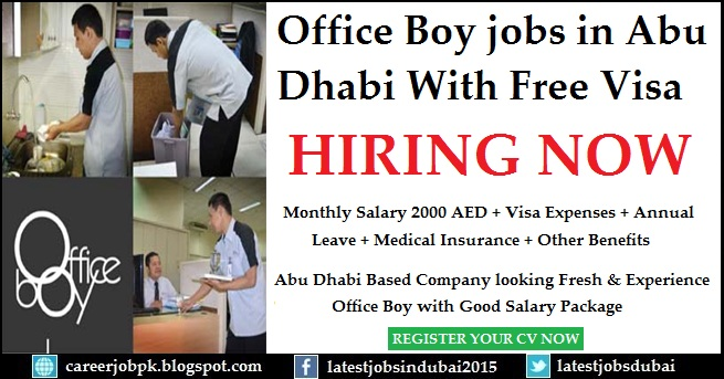 Office Boy jobs in Abu Dhabi