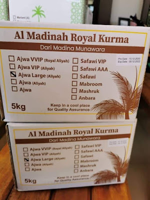 Kurma Ajwa Madinah 5kg