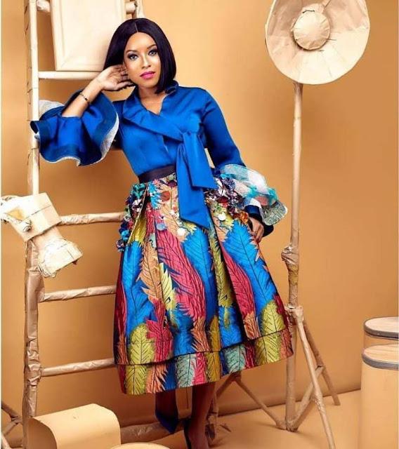 Joselyn Dumas Ankara styles