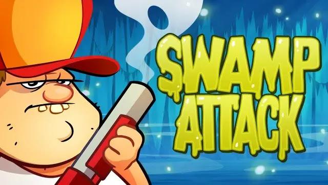 تحميل لعبة هجوم المستنقع swamp attack مهكرة  من ميديا فاير - مستعجل