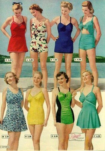 Ispirazione Vintage Abbigliamento Da Spiaggia Negli Anni 20 30 E 40