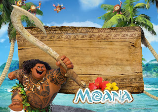 Moana Free Printable Invitations Labels Or Cards