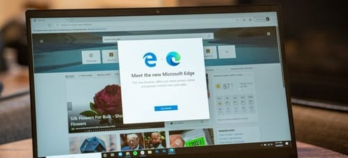 Microsoft's Edge browser has intrusive behavior