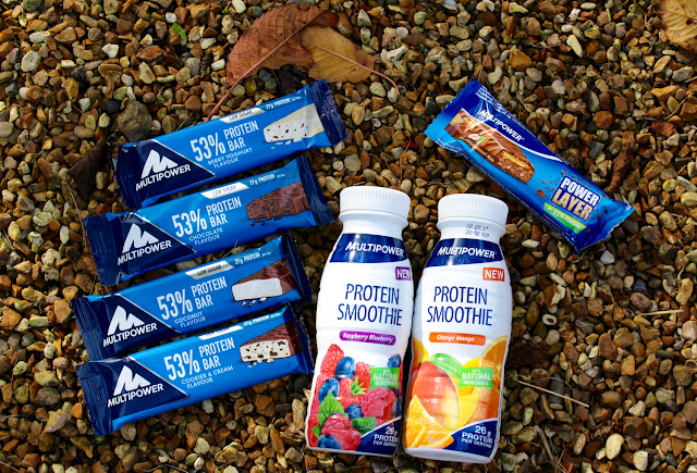 MultiPower Protein Smoothies and Protein Bars