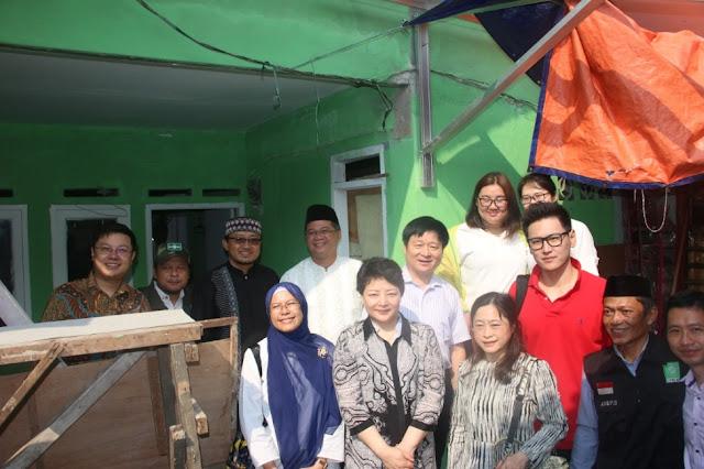 Kunjungi Bedah Rumah NU Jakarta, NGO China: Kami Ingin Belajar Spirit dari Kalian