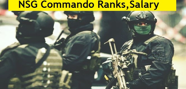 NSG Commando Ranks, Salary, Allowances