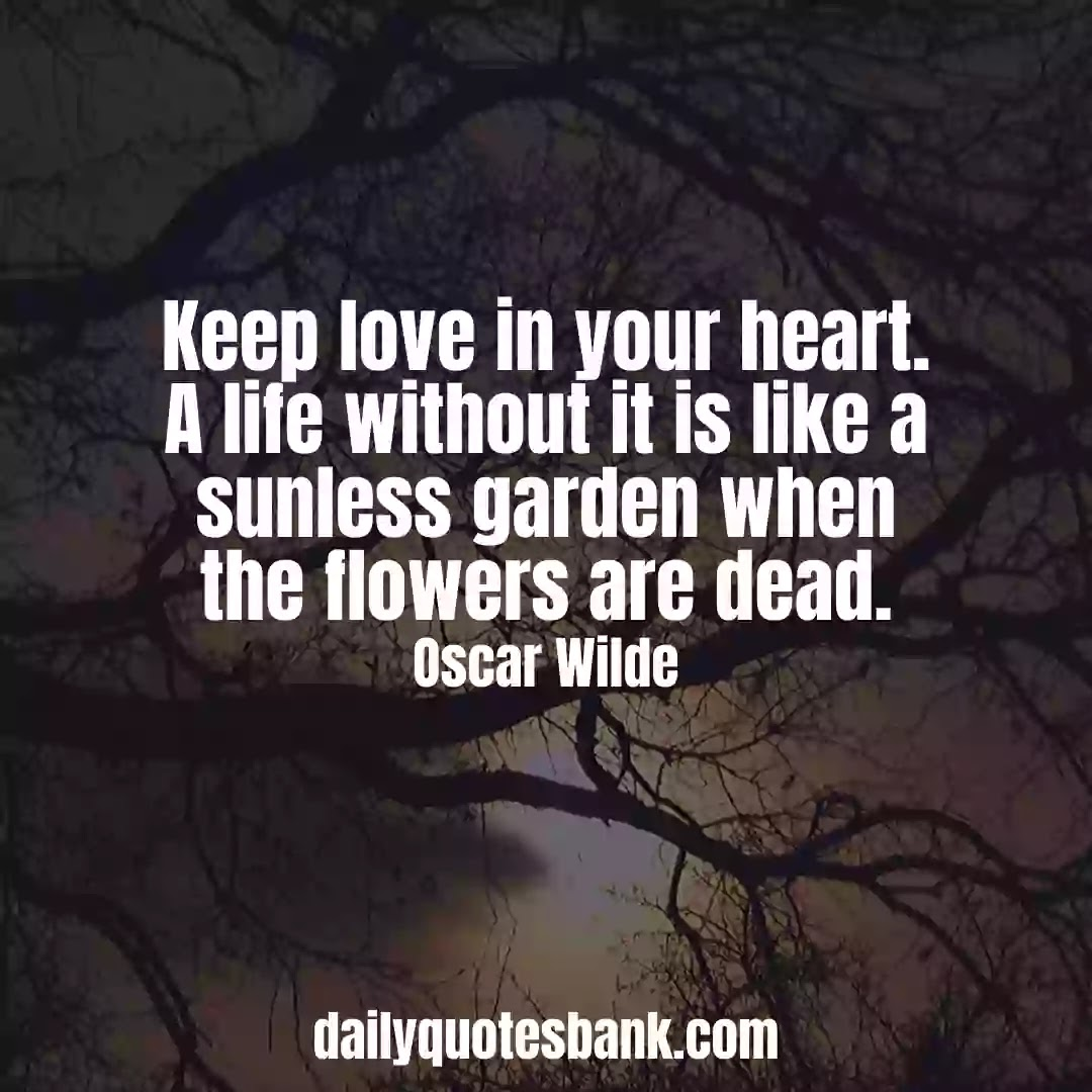 Oscar Wilde Quotes On DeathThat Will Make You Wisdom