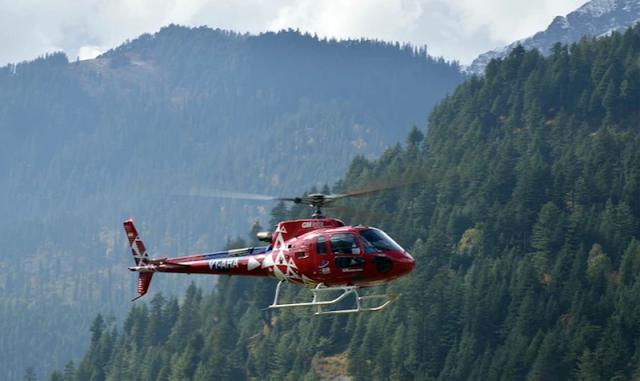 Helicopter Ride in Manali