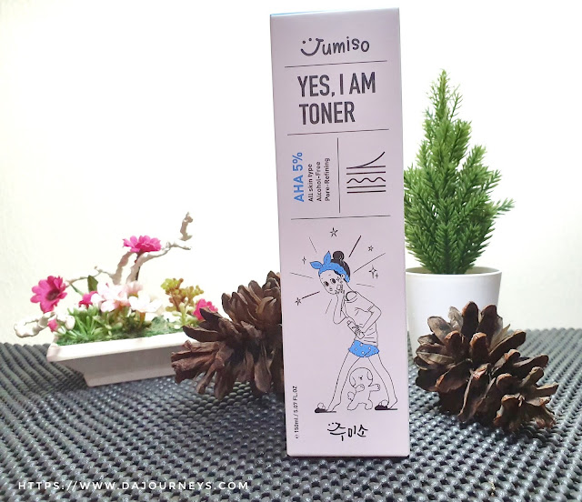 [Review] Jumiso Yes, I am Toner AHA 5%