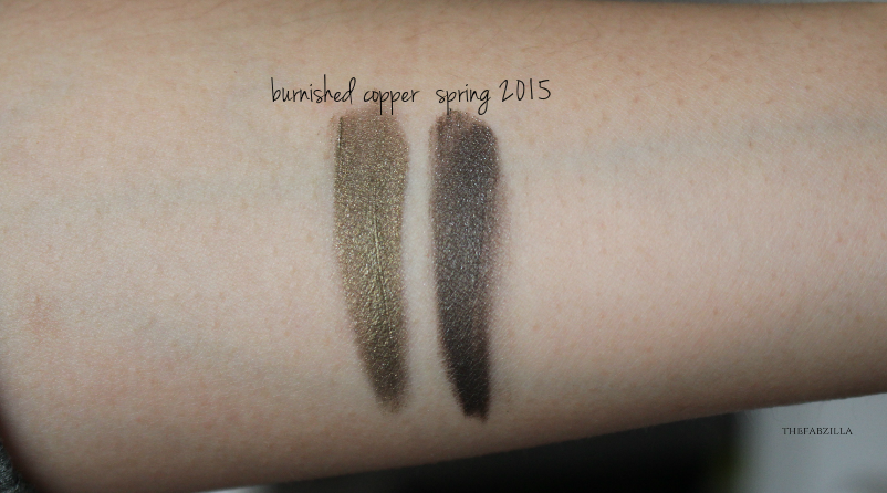 Tom Ford Cream Color for Eyes Burnished Copper Swatch