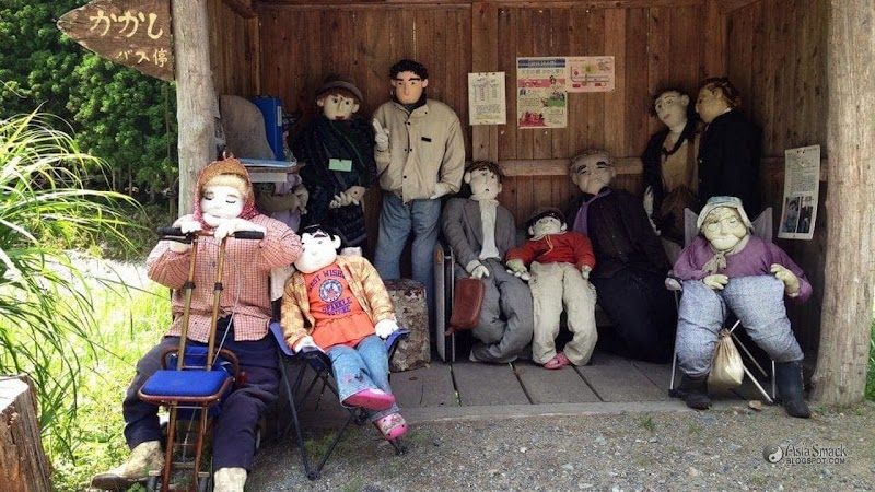 Scary! Life Size Human Scarecrow Doll Conquered The Village