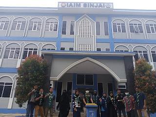 Hizbul Wathan Sinjai Peringati Hari Peduli Sampah Nasional di Kampus IAIM