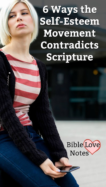6 Ways the Self-Esteem Movement Contradicts Scripture. This 1-minute devotion packs a powerful punch at this popular belief.