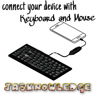 Control Android with Keyboard and mouse